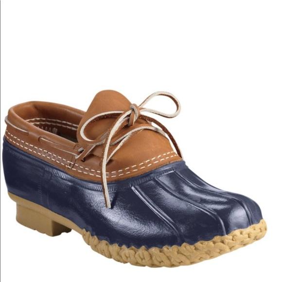 37225f731b0c2 L. L. Bean Rubber Moc Rain Boots